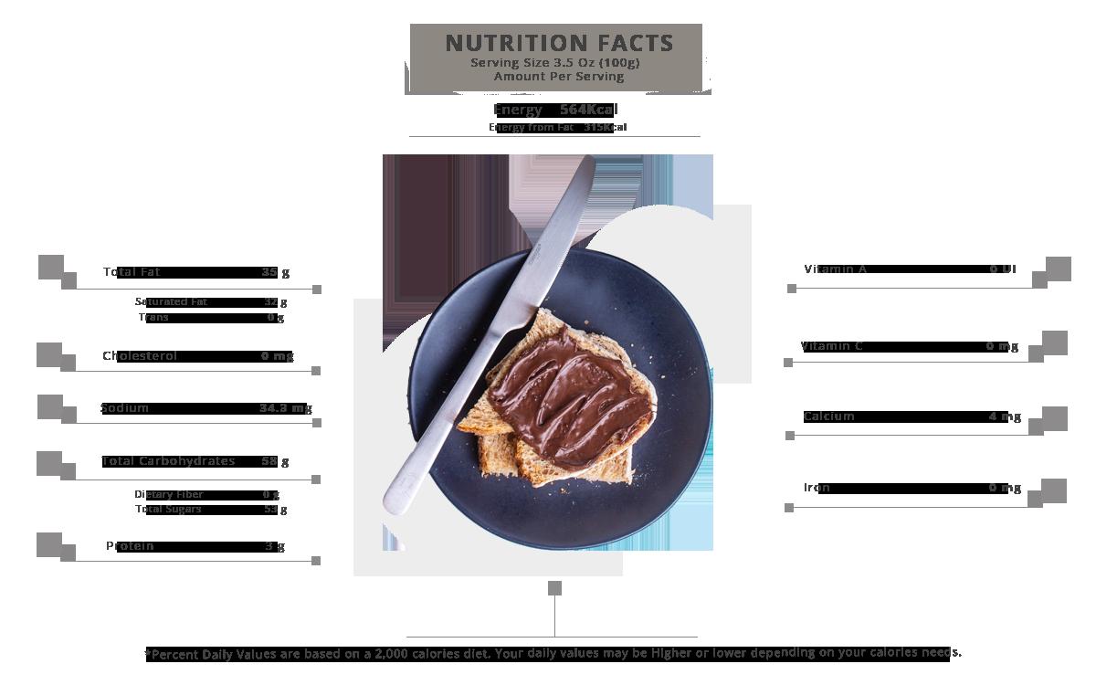 AL Ameera Chocozella nutrition facts