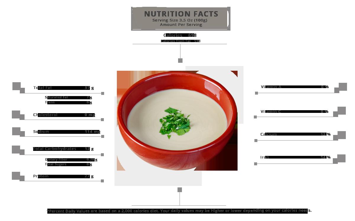 AL Ameera Tahina nutrition facts Final